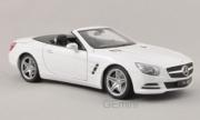 Mercedes . 500 (R231) blanc 1/18