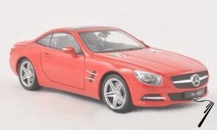 Mercedes . 500 (R231) hardtop rouge 1/18