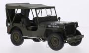 Jeep . U.S. Army - cabriolet fermé 1/18