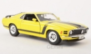 Ford Mustang yellow yellow 1/24