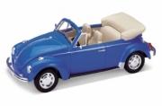 Volkswagen . cabriolet bleu 1/24