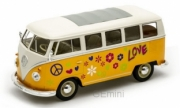 Volkswagen . Flower Power Jaune 1/24