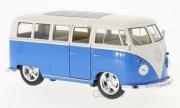 Volkswagen . Low Rider Bleu / Blanc 1/24