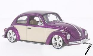 Volkswagen Coccinelle Lila/beige lila/beige 1/24