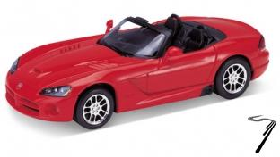 Dodge Viper SRT10 rouge SRT10 rouge 1/24
