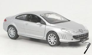 Peugeot . argent 1/24