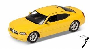 Dodge . R/T jaune 1/24