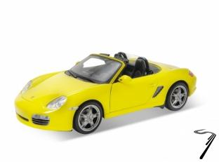 Porsche Boxster S cabriolet jaune S cabriolet jaune 1/24
