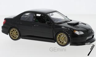 Subaru Impreza WRX STI noire WRX STI noire 1/24