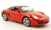 Porsche Cayman S rouge S rouge 1/24