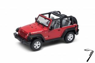 Jeep . cabriolet rouge 1/24