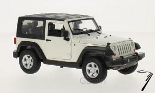 Jeep . cabriolet fermé blanc 1/24