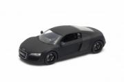 Audi R8 black matt black matt 1/24