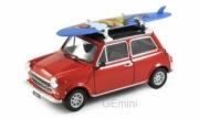 Mini . 1300 Rouge Noir avec Surf 1/24
