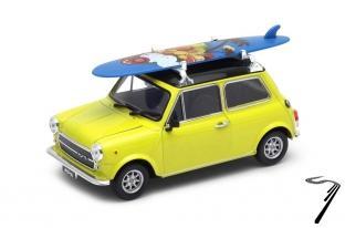 Mini . 1300 jaune/noir avec surf 1/24