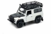 Land Rover . blanc 1/24