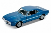 Pontiac . metallic blue 1/24