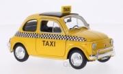 Fiat . Taxi jaune 1/24