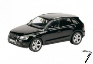 Audi . noir 1/24