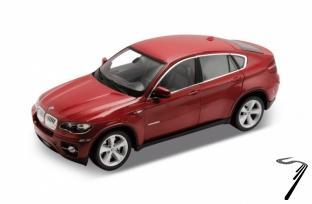 BMW . rouge foncé 1/24