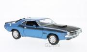 Dodge . T/A bleu / noire 1/24