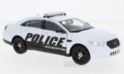 Ford . Police Interceptor, blanche 1/24