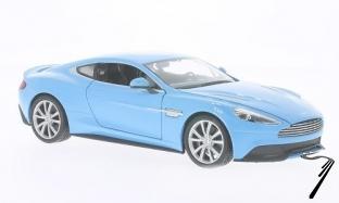 Aston Martin Vanquish bleu bleu 1/24