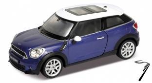 Mini . S Paceman bleu 1/24
