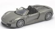 Porsche 918 cabriolet argent Cabriolet argent 1/24