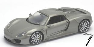 Porsche 918 Spyder hardtop argent Spyder hardtop argent 1/24