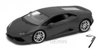 Lamborghini Huracan LP 610-4 Noir mat 1//24 Welly
