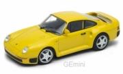 Porsche jaune jaune 1/24
