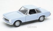 Mercedes . SL (W113) bleu 1/24