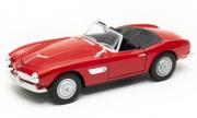 BMW . Cabriolet rouge 1/24