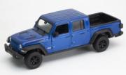 Jeep . bleu 1/24