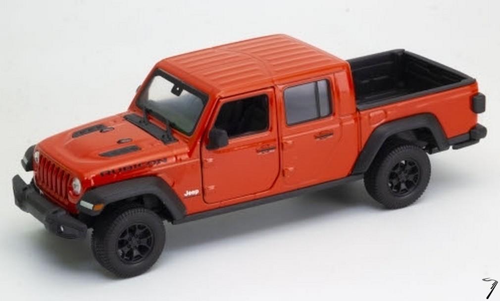 Jeep . Rubicon Orange 1/24