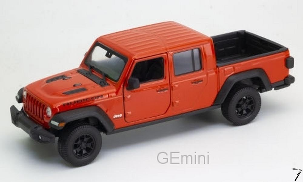 Jeep . Rubicon rouge 1/24