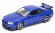 Nissan Skyline GT-R Bleu GT-R Bleu 1/24