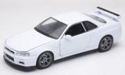 Nissan Skyline GT-R Blanc GT-R Blanc 1/24