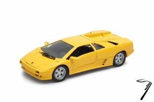 Lamborghini Diablo jaune jaune 1/24