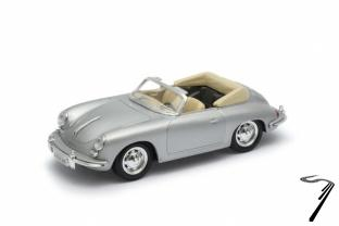 Porsche . B cabriolet gris 1/24