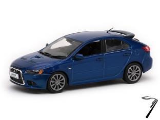 Mitsubishi . sportback Ralliart bleue 1/43