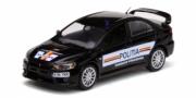 Mitsubishi . Evo Police roumanie 1/43