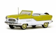 Nash . Metropolitan cabriolet vert/blanc 1/43