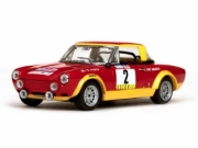 Fiat 124 Abarth 1st Portugal rally  1/43