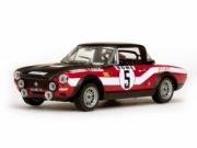 Fiat 124 Abarth 7ème rallye Monte-Carlo  1/43
