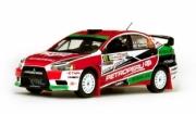 Mitsubishi Lancer Evo X #41 rallye Italie  1/43