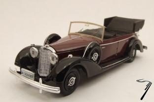 Mercedes . Marron 1/43