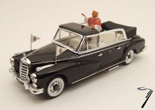Mercedes . D Limousine Pape Giovanni XXIII 1/43