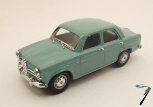 Alfa Romeo . Bleu azur 1/43